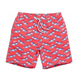 Men's Beach Casual Short Summer Comfortably Adjustable Print