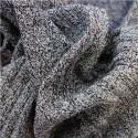 Blusa de Inverno Feminina Cinza e Preto Pulôveres