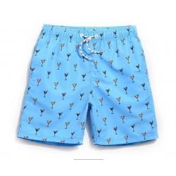Short Masculino Estampado Confortavel Ajustavel Curto Praia verão