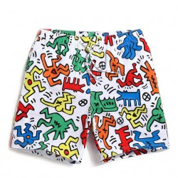 Comfortable Short Bermuda Men's Summer Adjustable Beach Bermuda