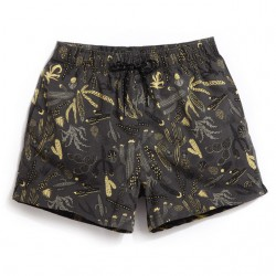 Men's Short Short Comfortable Beach Print Summer Casual