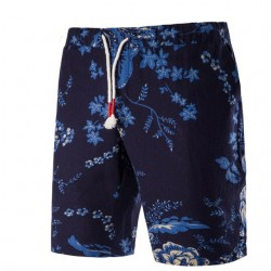 Men's Bermuda Print Casual Comfort Summer Beach