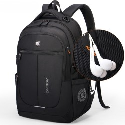 School Notebook Backpack for Large Notebook Compartment with Handset.