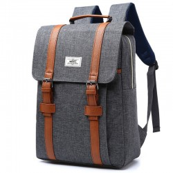 School Bag Square School Fashion Retro Backpack Stylish Jeans