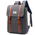 School Bag Square School Fashion Retro Backpack Stylish Jeans