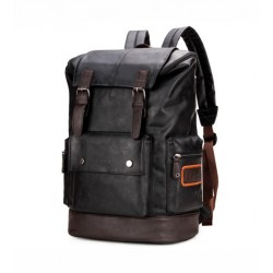Large Backpack for Waterproof Leather Road Trip