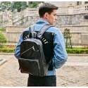 Ziper Unisex Backpack Casual School Comfortable Work