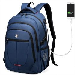 Mochila Masculina Carregador USB Interno Trabalho Viajem Notebook