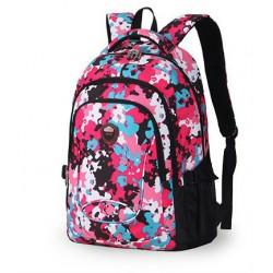Mochila Escolar Feminina Estampa Floral Colorida