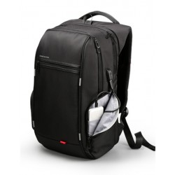 Large Male Travel Backpack USB Input Internal Battery