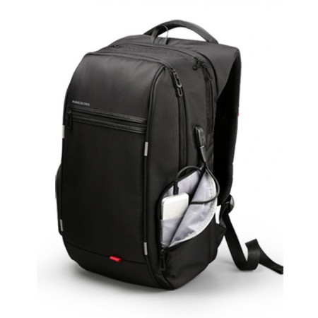 Large Male Travel Backpack USB Input Internal Battery