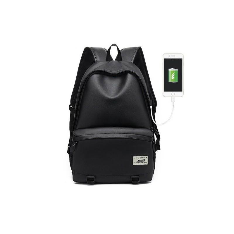 6e1be8a4a Mochila com Caregador de Celular Bateria Interna Bolsa Casual