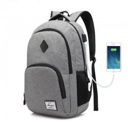 Mochila Escolar e Universitaria para Notebook Slim Bateria Interna USB