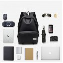 Backpack with Battery Charger for USB Cell Phone for College