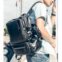 Male Dual Back Backpack and Hand Use Teacher's Bag