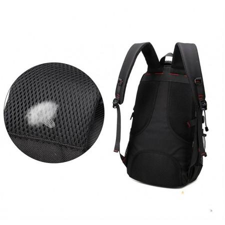 Men's Printed Backpack Men's USB Battery Charge