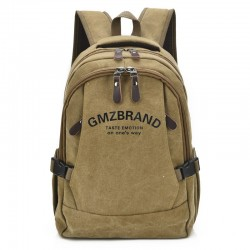 School Backpack Casual Work Bag Purse Brown Jeans