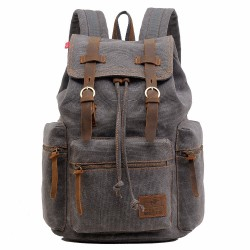 Unisex University Backpack Full of Leather Handbags