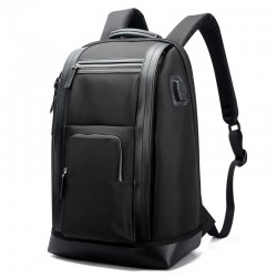 Casual Modern Working Backpack Leather Luxury Slim Elegant Business