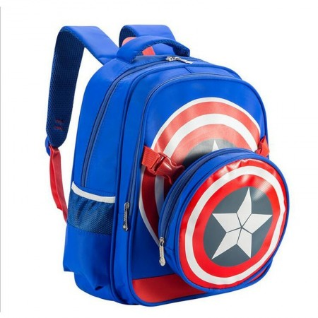 Marvel Capital America Blue and Red Backpack 2/1