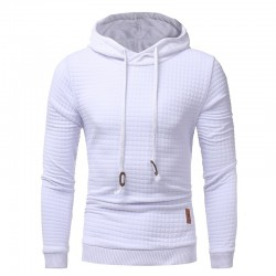 Hooded Sweatshirt Winter Fashion Casual Clean Elegenta Slim