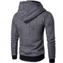 Mens Hooded Sweater Casual Fashion Winter Hooded Sweatshirt