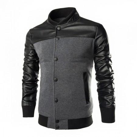 Jacketa Men's Casual Casual Kangaroo Pocket Fashion Winter