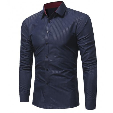 Men's Social Shirt Just Stylish Work Desk