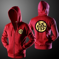 Goku Men's Casual Printed Hoodie Hooded Winter Fashion