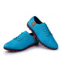 Sapatenis Blue Casual Formal Men's Social Shoe Party