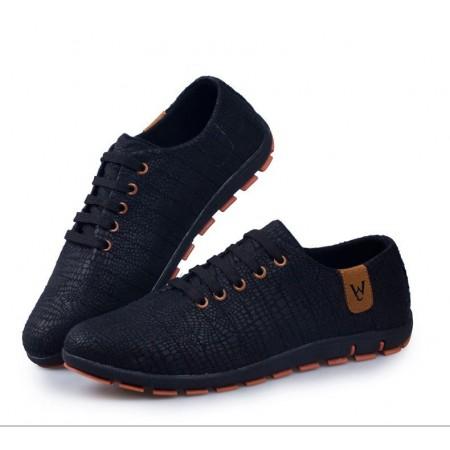 Sapatenis Blue Casual Formal Men's Social Shoe Party