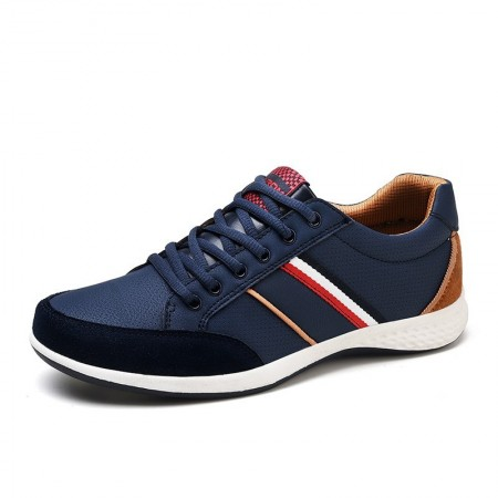 Sapatenis Men's Surom Casual Stripes Youth Style Normal Cano