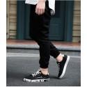 Sapatenis Casual Yuyan Male Black Fashion Stylish Creepy