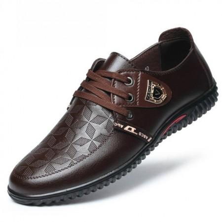 Sapato Masculino Casual Elegante Formal Basico BIMUDUIYU Anti-Odor