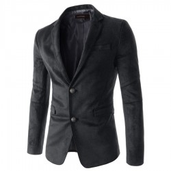 Fashionable Men's Casual Blazer Formal Long Sleeve