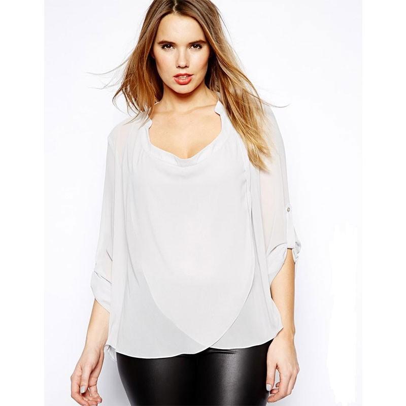 0d71c61ae4 Blusa Casual Regata Estampada BBlusa Extra Grande Feminina Branca Elegante  Plus Sizeranco e Preto Top Camiseta Feminina