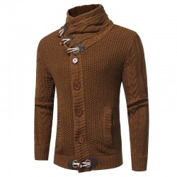 Men's Casual Sweater Casual Elastic Thickening Style