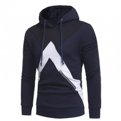 Men's Zipped Casual Zip Hoodie