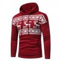 Men's Casual Sweater Sweatshirt Formal Cool Hooded Sweater