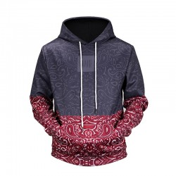 Men's Casual Fashion Printed Sweatshirt