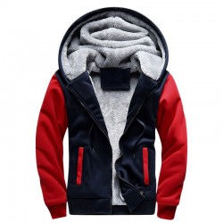 Modern Male Casual Reinforced Hooded Sweatshirt