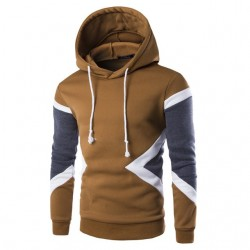 Men's Zipped Casual Sweater Hooded Ziper