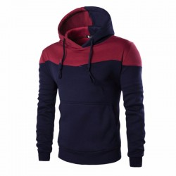 Formal Modern Male Casual Hooded Sweatshirt