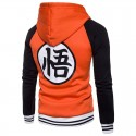 Dragon Ball Sweatshirt Ziper Casual Hooded Sweatshirt