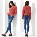 Women's Long Sleeve Sweater Sexy Winter Pullover GareMay