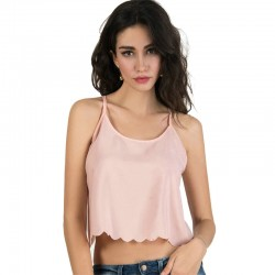 Mini Pink Blouse Women's Regatta Fashion Summer Casual Chiffon in