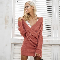 Elegant Dress Casual Long Sleeve Women's Pullover SIMPLEE