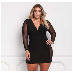 Women's Dress Sexy Short Casual Long Sleeve Elegant Style