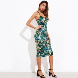 Women's Casual Dress Floral Sexy Botanica Summer Style Casual