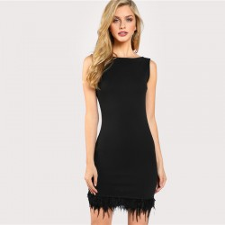 Women's Short Short Sleeveless Spring Style Sexy Party Dress